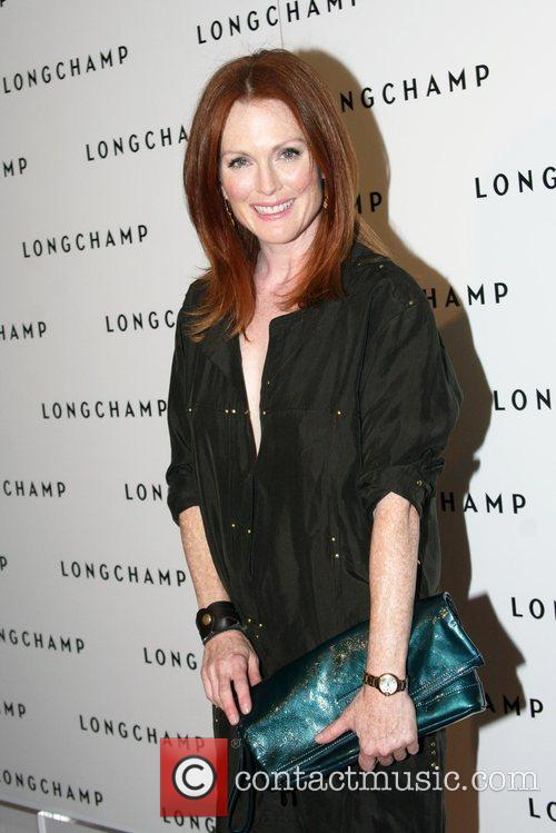 Julianne Moore Longchamp 60th Anniversary Celebration at the...