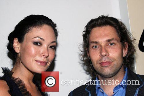Lindsay Price and Guest Longchamp 60th Anniversary Celebration...