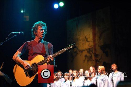 Lou Reed performing live at Campo Pequeno Lisbon,...