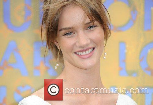 Rosie Huntington-Whiteley Louis Vuitton hosts a dinner for...