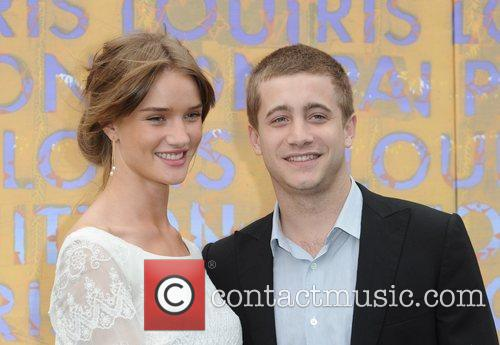 Rosie Huntington-Whiteley and Tyrone Wood Louis Vuitton hosts...