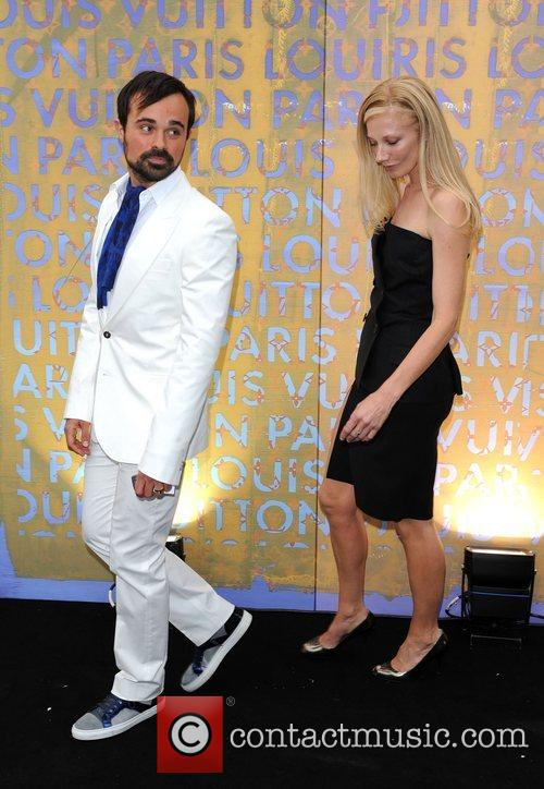 Evgeny Lebedev and Joely Richardson Louis Vuitton hosts...