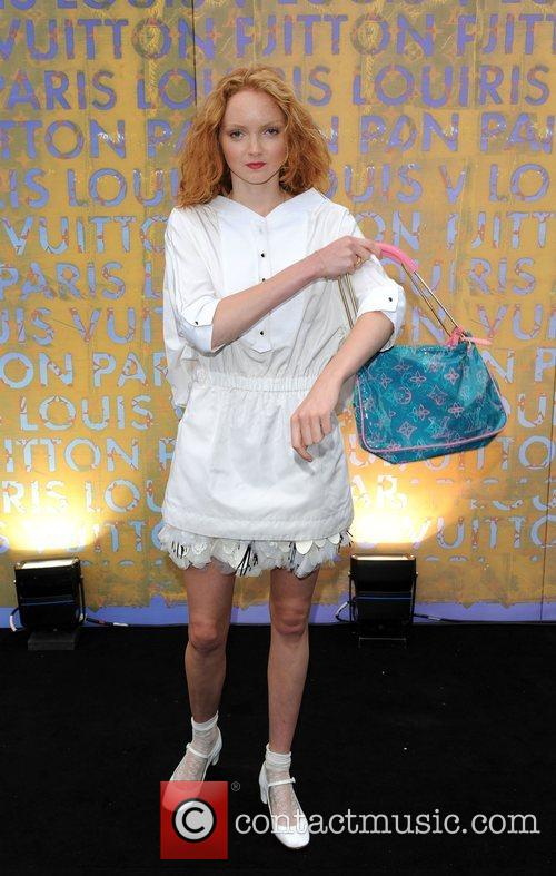 Lily Cole Louis Vuitton hosts a dinner for...