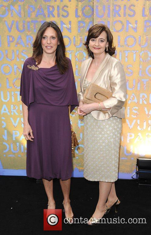 Cherie Blair and guest Louis Vuitton hosts a...