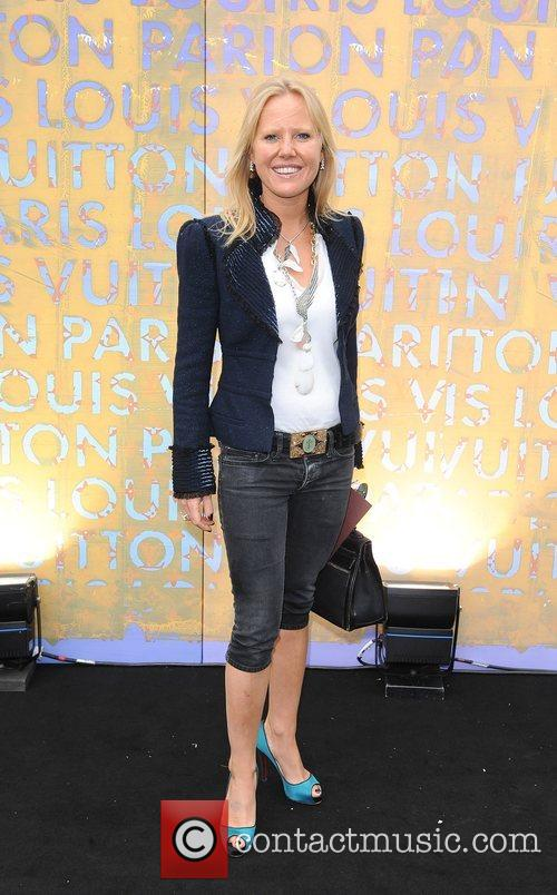 Guest Louis Vuitton hosts a dinner for Richard...
