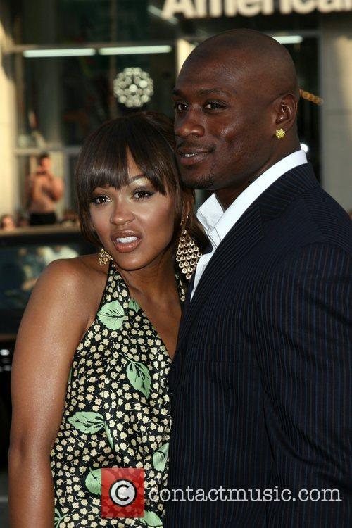 Meagan Good and Thomas Jones Premiere of 'Love...