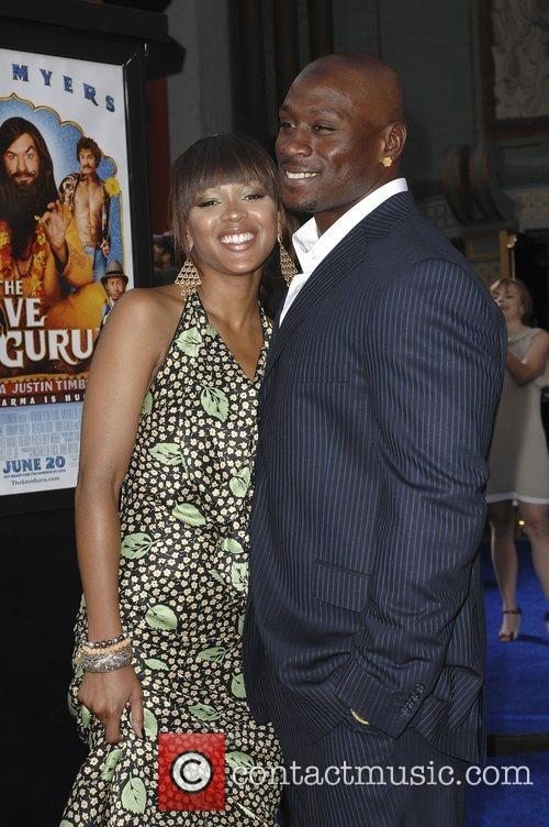 Meagan Good and Thomas Johns Premiere of 'Love...