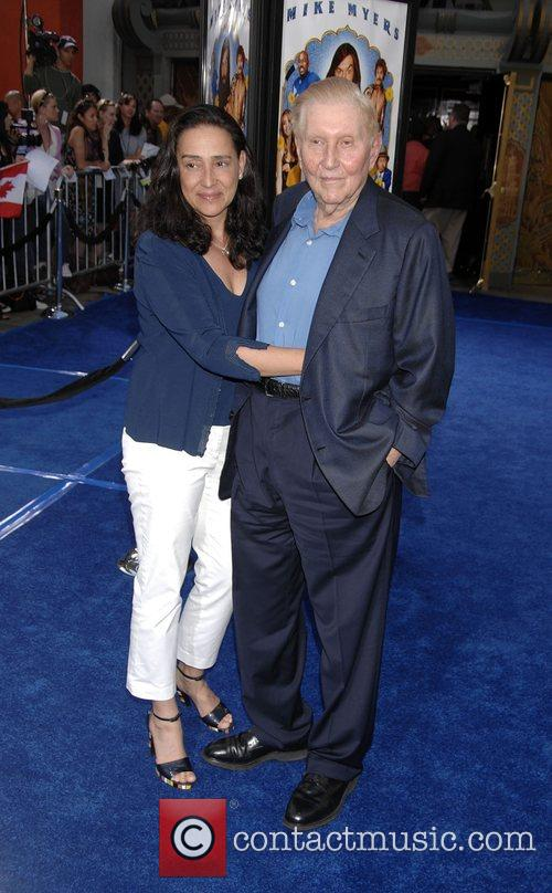 Paula Redstone and Sumner Redstone Premiere of 'Love...