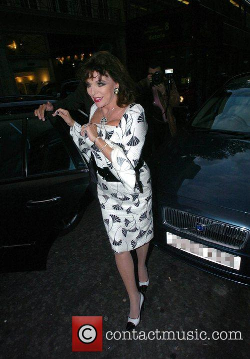 Joan Collins Lucian Freud Exclusive VIP Private View...