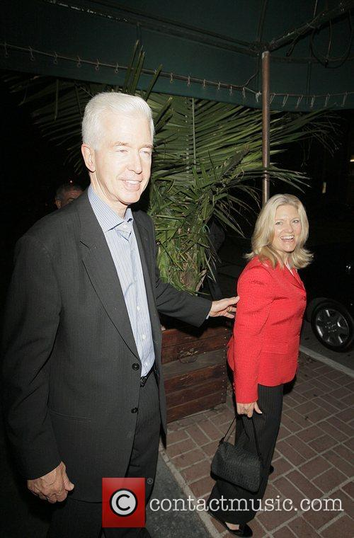 Former California Governor Grey Davis and his wife...