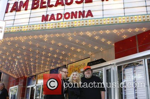 Madonna and Michael Moore 7