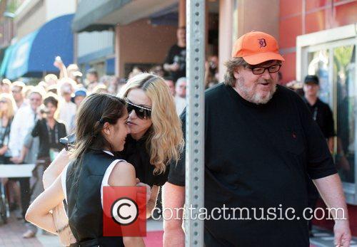 Lourdes Leon, Madonna and Michael Moore Premiere of...