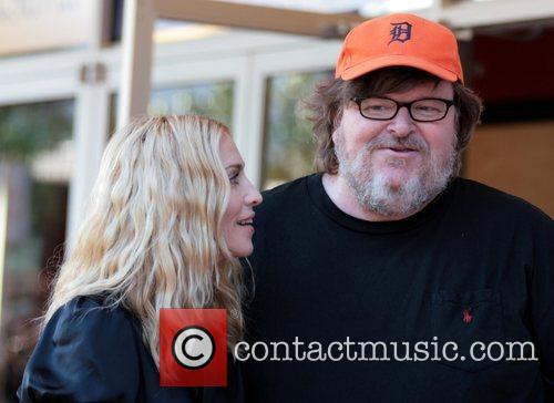Madonna and Michael Moore 3
