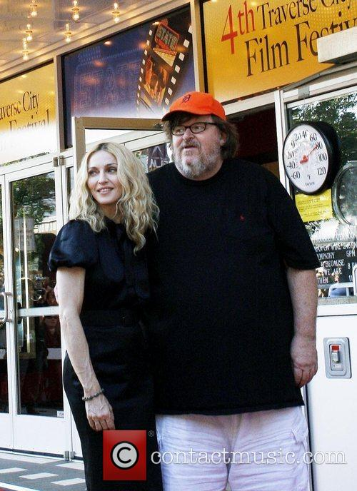 Madonna and Michael Moore 1