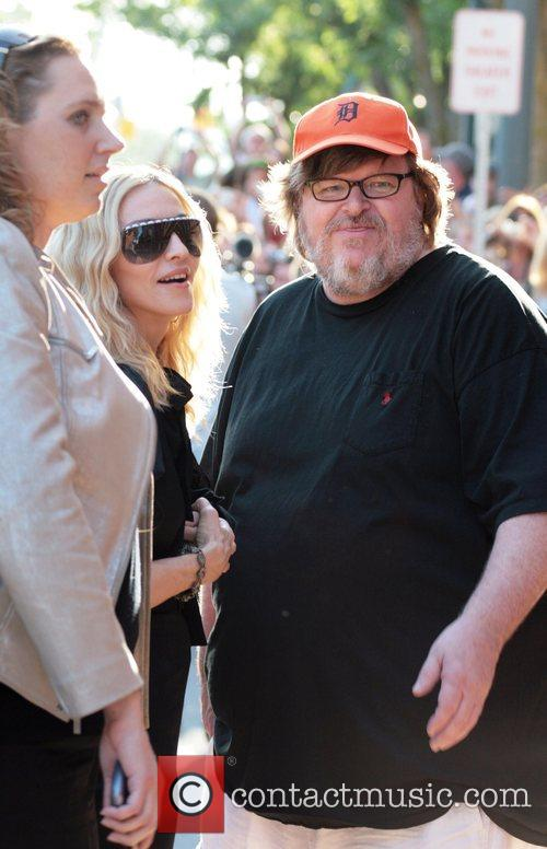 Madonna and Michael Moore 4