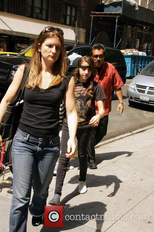 Madonna out and about in Manhattan with her...