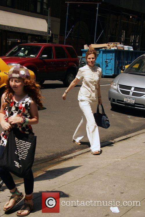 Sandra Bernhard and Her Daughter Cicely Yasin 4