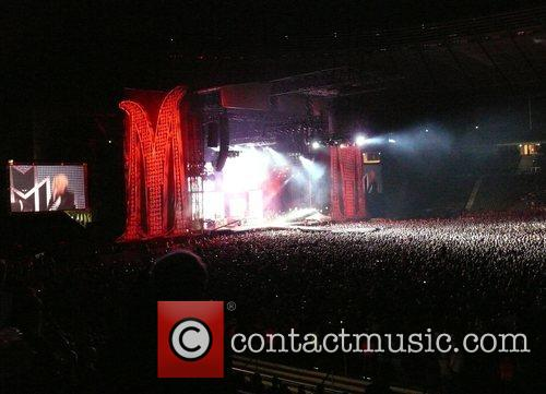 Atmosphere Madonna concert (Sticky & Sweet Tour 2008)...