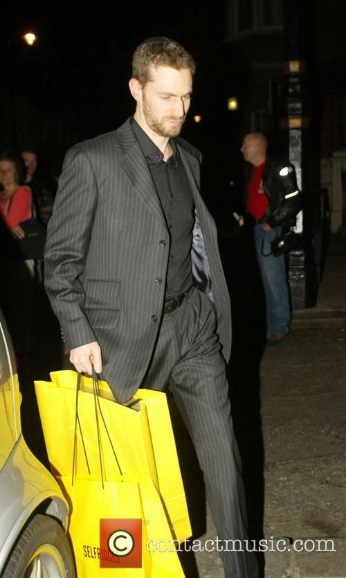 Arriving at The Punchbowl to celebrate Guy Ritchie's...
