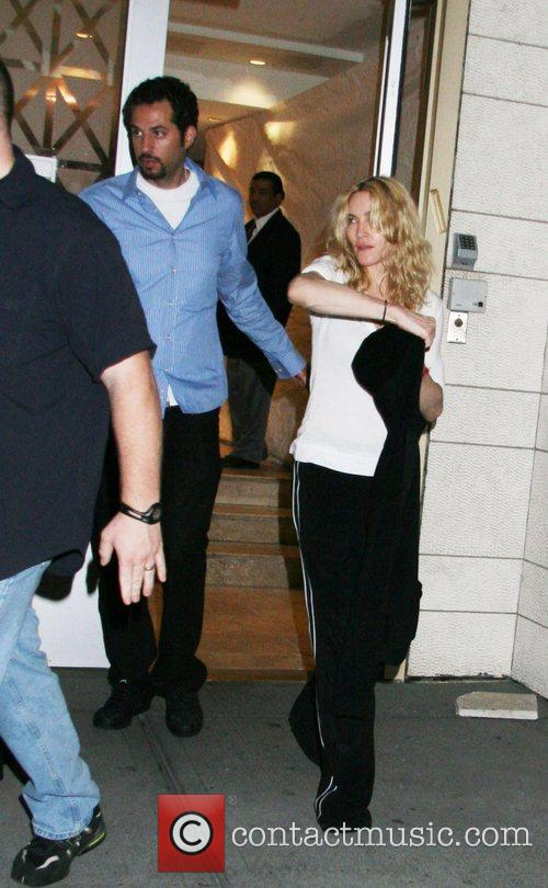 Guy Oseary and Madonna 2