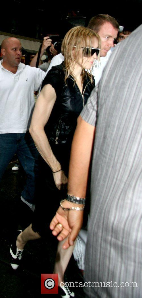 Madonna and Guy Ritchie 5