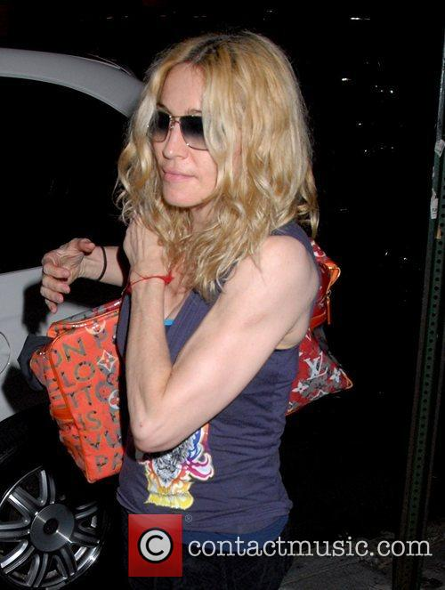 Madonna outside of the the Kabbalah Centre...