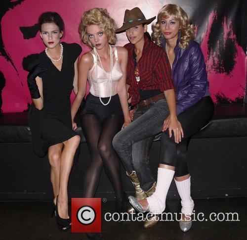 Models and Madonna 1