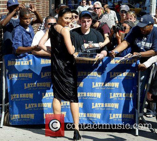 Maggie Gyllenhaal and David Letterman 19