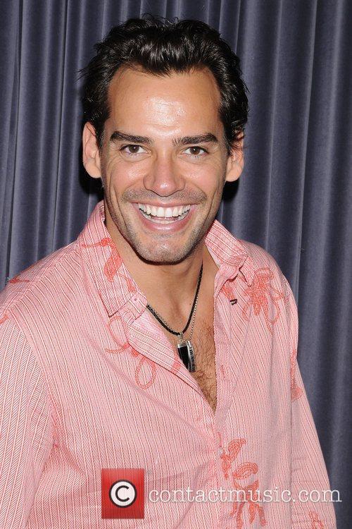 Cristian de la Fuente attends the birthday celebration...