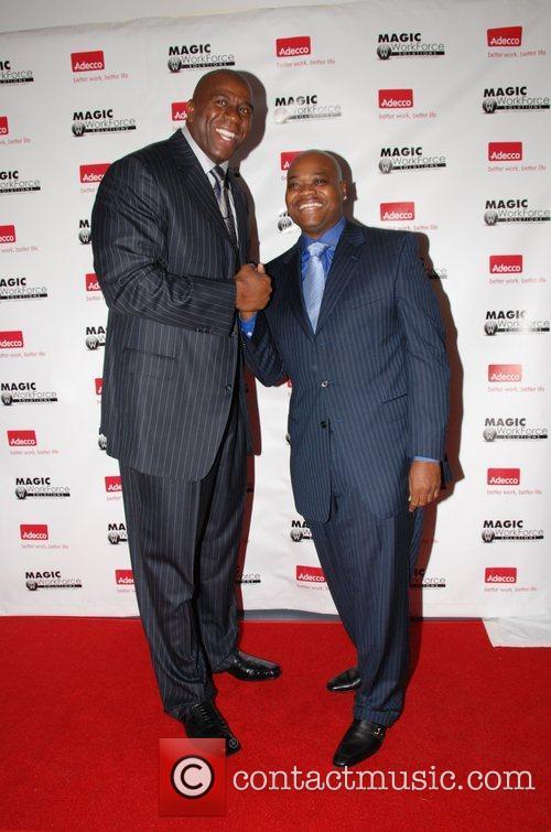 Earvin Magic Johnson and Phil Robinson Magic Workforce...