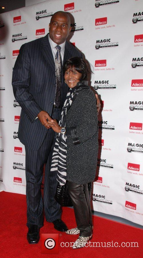 Earvin Magic Johnson and Cicely Tyson Magic Workforce...