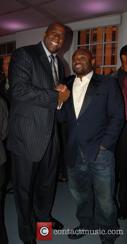 Earvin Magic Johnson and Steve Stoute Magic Workforce...