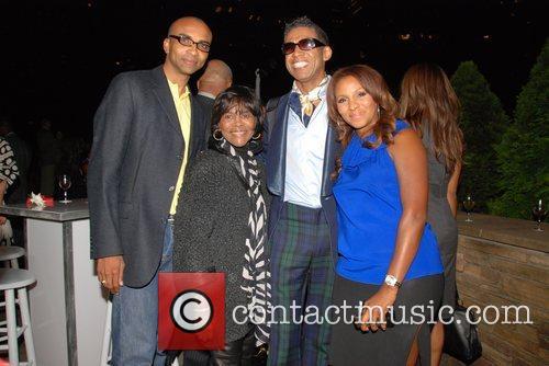 Mark-Anthony Edwards, Cicely Tyson,designer B. Michael and Marvet...
