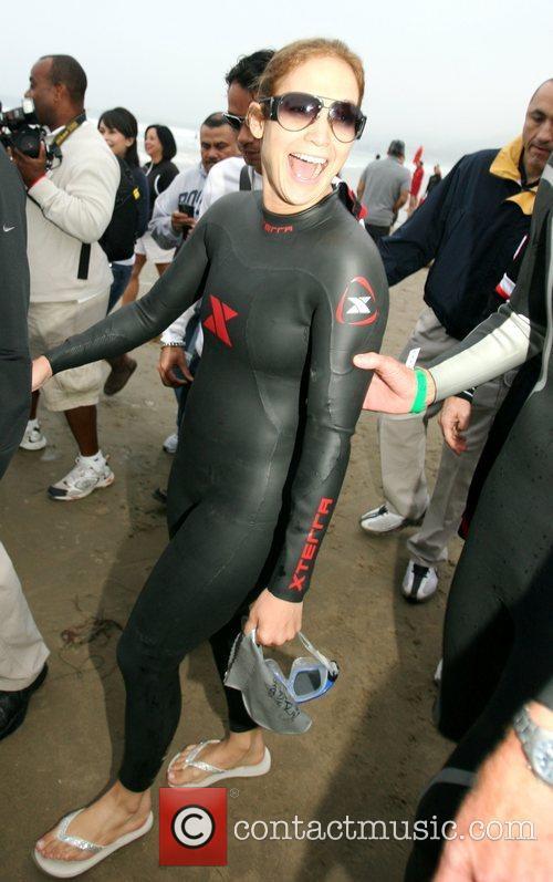 Competing in the Nautica Malibu Triathlon