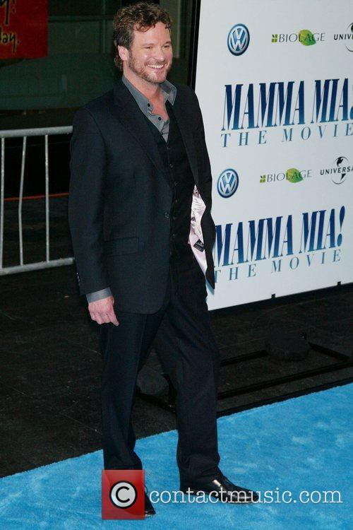Colin Firth The New York Premiere of 'Mamma...