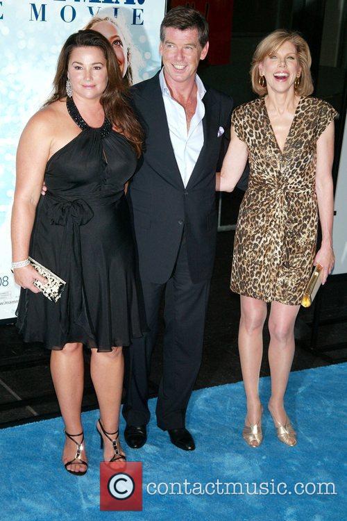 Keely Shaye Smith, Pierce Brosnan and Christine Baranski...