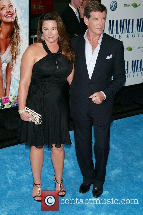 Pierce Brosnan and Keely Shaye Smith The New...