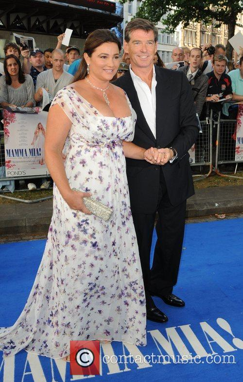 Pierce Brosnan and Keely Shaye Smith 2