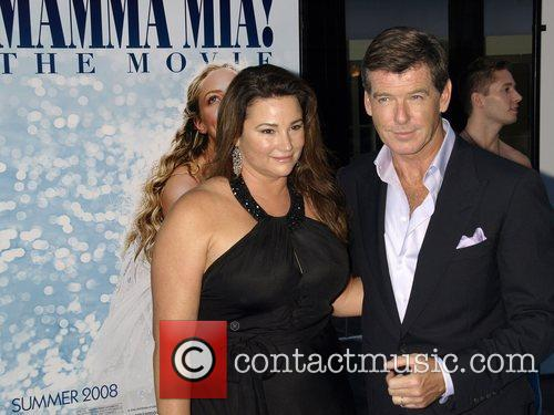 Keely Shaye Smith and Pierce Brosnan The New...