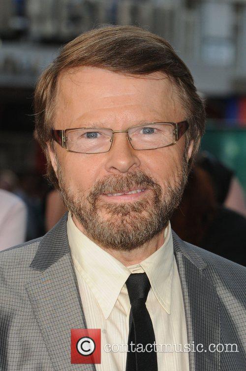 Bjorn Ulvaeus of Abba 'Mamma Mia' UK premiere...