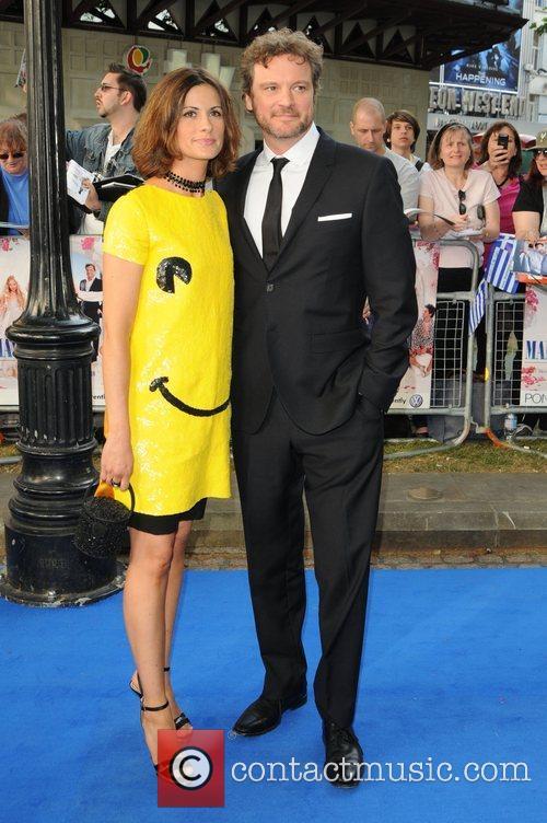 Colin Firth 'Mamma Mia' UK premiere - arrivals...