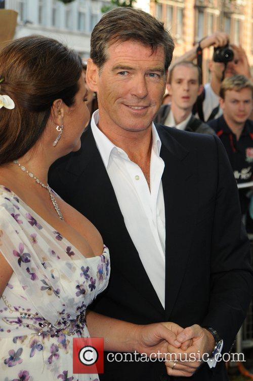 Pierce Brosnan and Keely Shaye-smith 8