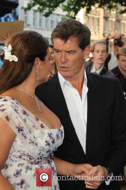 Pierce Brosnan and Keely Shaye-smith 9