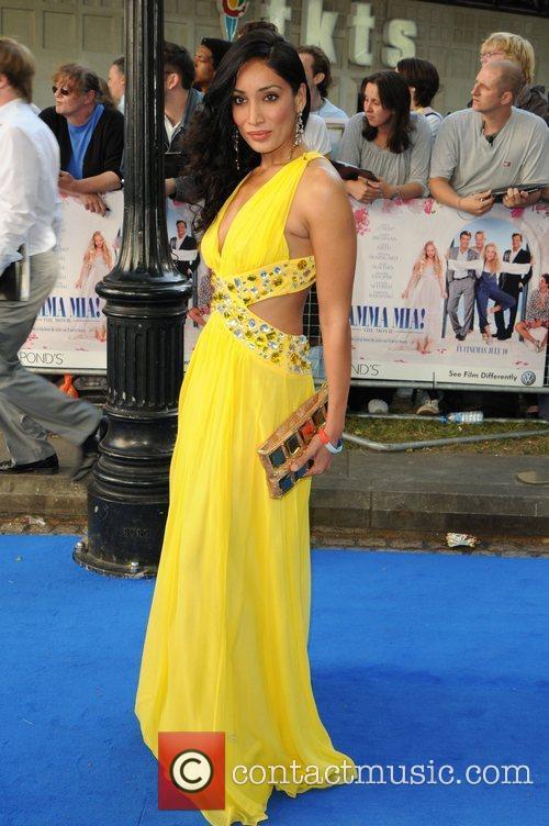 Sophie Hayat 'Mamma Mia' UK premiere - arrivals...