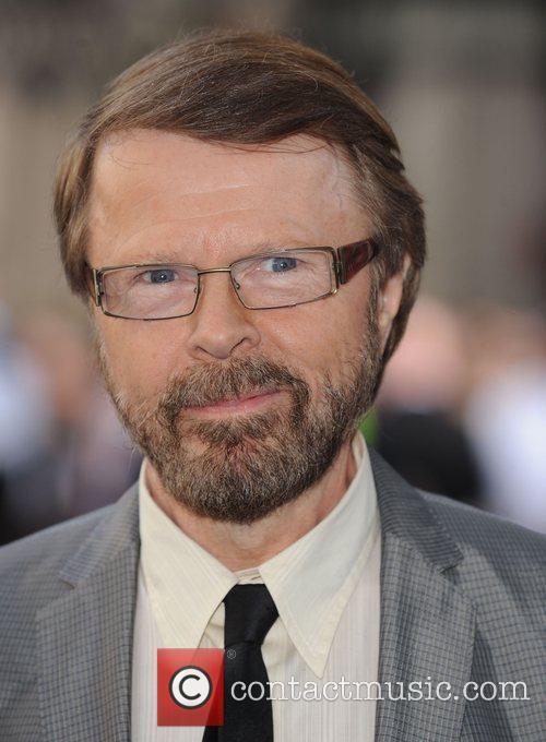 Bjorn Ulvaeus World Premiere of Mamma Mia! held...