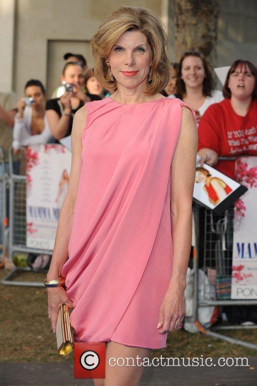 Christine Baranski World Premiere of Mamma Mia! held...