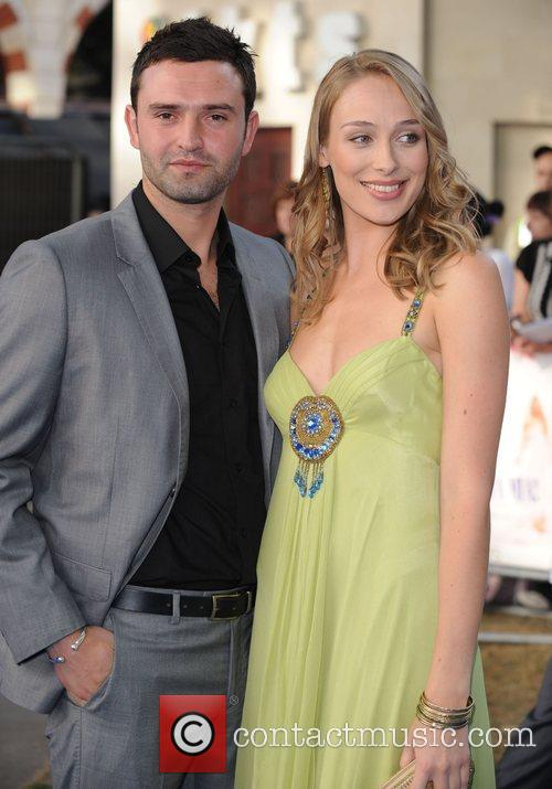 Guests World Premiere of Mamma Mia! held at...