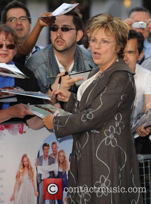 Julie Walters World Premiere of Mamma Mia! held...