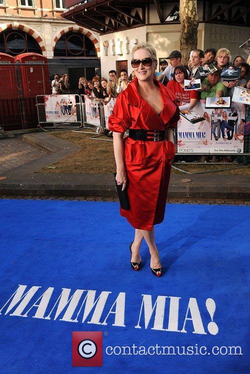 Meryl Streep, Odeon Leicester Square