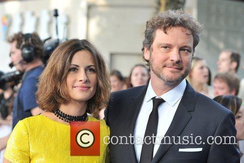 Colin Firth and Livia Giuggioli World Premiere of...